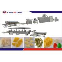Buy cheap Automatic 3D Snack Pellet Production Line Fryums , Pani Puri Machinery from wholesalers