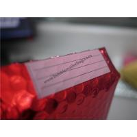 Buy cheap Odorless Red Metallic Bubble Envelopes  , 245x330 #A4 Bubble Wrap Envelopes from Wholesalers