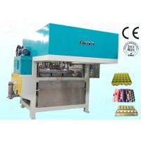 Buy cheap Egg Tray Pulp Moulding Machine Semiautomatic CE Approved 800Pcs / H from Wholesalers