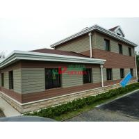 China Customized WPC Exterior Wall Cladding Weather Resistant Fire Resistance No Cracking on sale