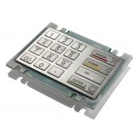 Buy cheap Multilanguage 16 Keys PCI EPP Encryption Metal Pinpad For ATM , Kiosk Pin Pad from Wholesalers