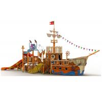 Buy cheap New technology of FRP pipe pirate ship slide for suitable for hot spring from wholesalers
