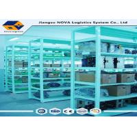 Quality Multi Layer Medium Duty Shelving Systems Warehouse Storage With Steel Panel wholesale