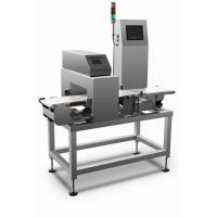 Buy cheap High speed combined metal detection and check weigher machine for metal detection and weight sorting process from Wholesalers