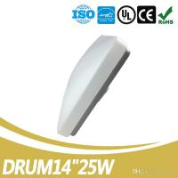 Buy cheap High Quality Drum LED Ceiling Light 14 Inch Dimmable 25W LED Ceiling Light UL ES Listed from wholesalers