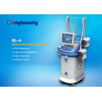 Quality Vacuum Four Handles Cryolipolysis Fat Freeze Slimming Machine For Weight Loss wholesale