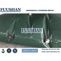 Quality Fuushan 15m3 Solar Military Water Bladder wholesale