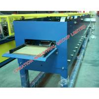 Buy cheap Horizontal Galvanised Steel Roof Rain Gutter Roll Forming Machine from wholesalers