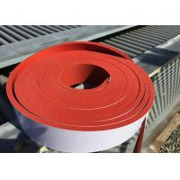 Buy cheap silicone sponge stripe, silicone foam stripe backing adhesive 3M from Wholesalers