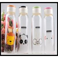 Buy cheap Promotional Christmas Gift glass water bottle with any simple elegant logo and color from Wholesalers