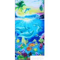 Buy cheap Cotton Custom Printed Beach Towels Dryfast Family Beach Towel for Kids from Wholesalers