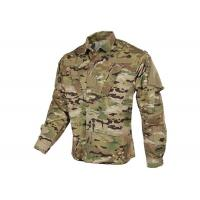 Buy cheap Tilted Chest Pocket Polyester Army Military Uniforms / Winter Work Jackets from wholesalers
