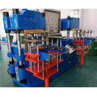 Buy cheap 2500 KN Silicone Plate Vulcanizing Machine Double Stations 250 mm Plunger Stroke from wholesalers