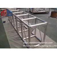 Light Weight Aluminum Stage Truss , Square Lighting Truss Bar For Rental Event