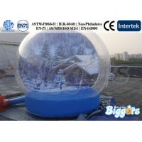 Buy cheap Unique Inflatable Advertising Christmas Snow Globe With Free Blower from Wholesalers
