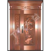 Buy cheap art copper doors from Wholesalers