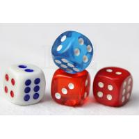 Buy cheap Concealable Code Dice Cheating Device / 6 Sides Casino Games Dice from Wholesalers