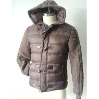 China Modern Breathable Mens Mountain Hardwear Down Jackets 100% polyester 300T on sale