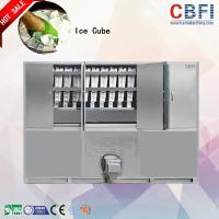 Buy cheap 1000 ~ 20000Kgs / 24H Industrial Ice Cube Making Machine , Ice Makers Machines For Cold Drink from Wholesalers