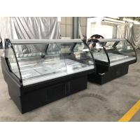 Buy cheap Meat Serve Over Counter Display Fridge With Fan Cooling System And LED Lighting from Wholesalers