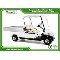 Buy cheap Trojan Battery Powered Electric Utility Carts 2 Seater Golf Cart Utility from wholesalers