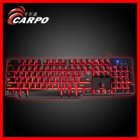 Buy cheap 3 colors background light mechanical keyboard from wholesalers