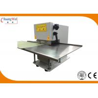 Buy cheap Small Aluminum Pcb Depanelizer Machine, Manual / Motorized Circular Blade Pcb Separator CWVC-1S from wholesalers