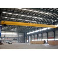Buy cheap LD Single Girder Eot Crane 1-32 Ton , Industrial Bridge Cranes For Factory / Stockyard from Wholesalers