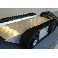 China Rubber Tracked Undercarriage for Stair Climber Robot with Customized Design on sale
