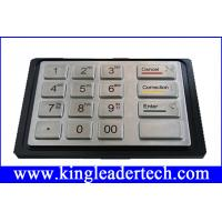 Buy cheap IP65 rated kiosk metal numeric keypad with 16 keys MKP145-16 from Wholesalers