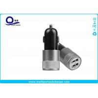Buy cheap 10W Mini Dual USB Car Charger , Mobile Phone Car charger for iPhone 7 5s from wholesalers