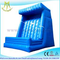 China Hansel Parent-child game inflatable velcro wall for kids and adults for Sports Game on sale