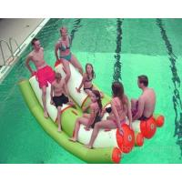Quality Inflatable Water Floating Seesaw, Inflatable Water Totter Games wholesale