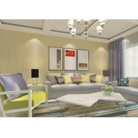 China Non - woven Contemporary Wall Coverings with Cross Stripes Pattern for Living Room on sale