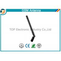 Wireless Rubber Flexible GSM GPRS Antenna 2 dBi Gain 900MHz / 1800MHz