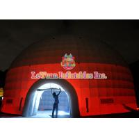 Buy cheap Led Light Inflatable Party Dome Tent / Water Resistance Inflatable Wedding Tent With Two Door from wholesalers