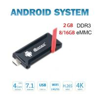 Buy cheap Android7.1 tv stick Rockcip RK3328 Quad Core mini pc from wholesalers