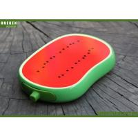 Buy cheap OEM / ODM Fresh Watermelon Fruit Power Bank , 4000mAh Quick Charge Powerbank from Wholesalers