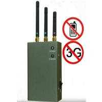 Buy cheap 5-Band Portable Cell Phone Signal Blocker Jammer from Wholesalers