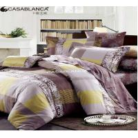 Buy cheap Reactive Printed Floral Bedding Sets Exquisite With Stitching Workmanship from Wholesalers
