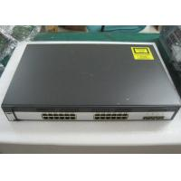 China WS-C3750G-24TS-S Used Catalyst Switch 24 10/100/1000 Ports No - Stacking on sale