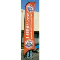 Buy cheap Advertising exhibition event Feather Flag Banners H4m / 13ft Size from Wholesalers