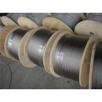 Quality High Strength galvanized steel wire rope , Triangular Strand Wire Ropes wholesale