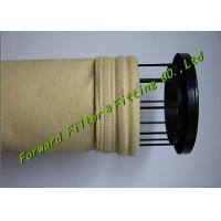 Buy cheap White / Yellow Color Pe Filter Bag Treatment Flue Gas And Dust Particles from wholesalers
