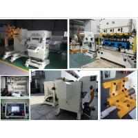 3 In 1 Decoiler Straightener Feeder for 300 mm Width 3.2 mm Thickness Metal Material