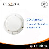 Buy cheap Alone Gas Detector Carbon Monoxide Detector Alarm Battery Operated from wholesalers