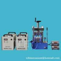Buy cheap 500C - 60T Laboratory Hydraulic Lamination Hot Press with Dual Temp. Controller from wholesalers