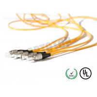 Buy cheap 1F Zip 2mm Fiber Optic Patch Cord Corning Cable 7m Length With Single Mode from Wholesalers