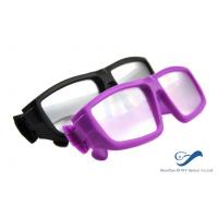 Buy cheap Plastic Frame Circular Polarized 3D Glasses Anti Scratch For Cinema from Wholesalers