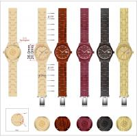 Buy cheap Wooden Watch With  3ATM Water Resistant And Japan Movement from Wholesalers